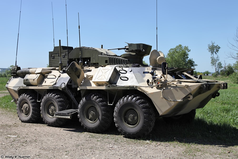 BPDM Typhoon-M: Russian counter-sabotage combat vehicle - 03