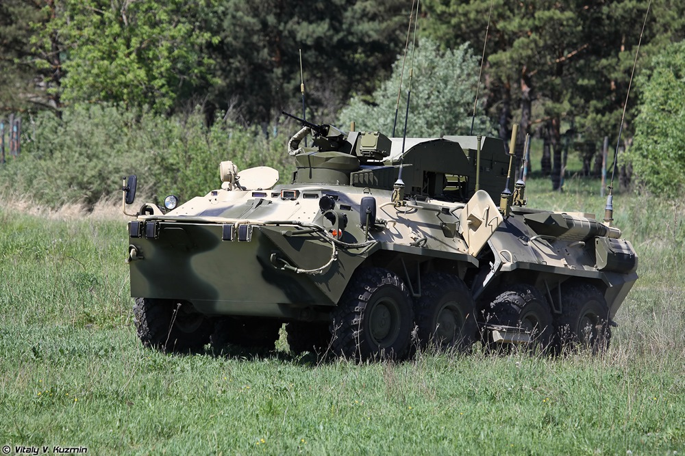 BPDM Typhoon-M: Russian counter-sabotage combat vehicle - 62