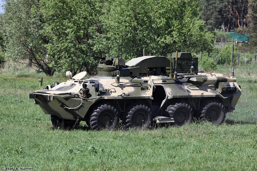 BPDM Typhoon-M: Russian counter-sabotage combat vehicle - 63