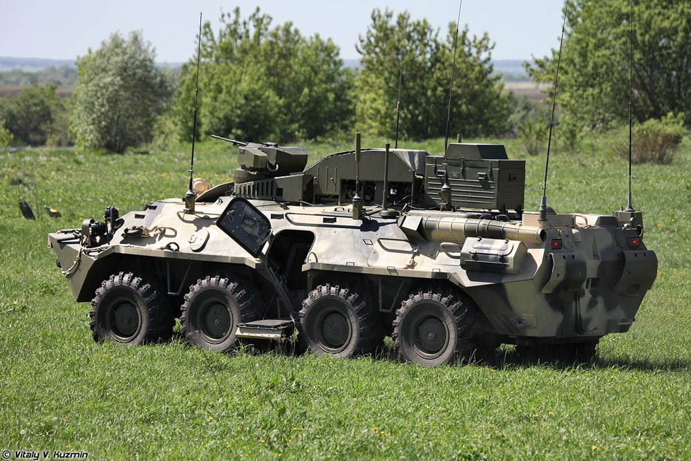 BPDM Typhoon-M: Russian counter-sabotage combat vehicle - 64
