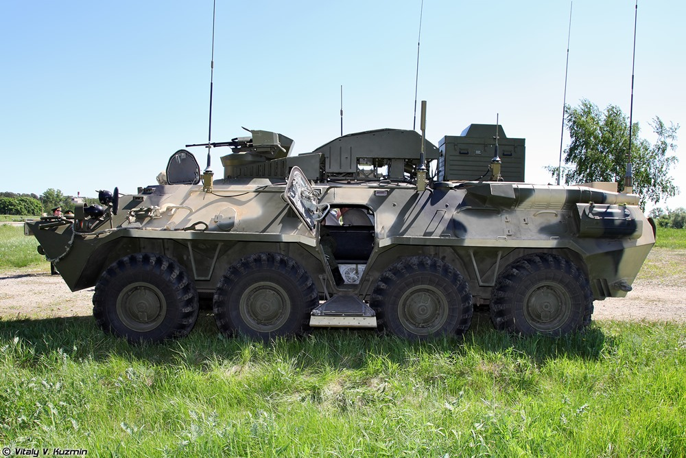 BPDM Typhoon-M: Russian counter-sabotage combat vehicle - 07