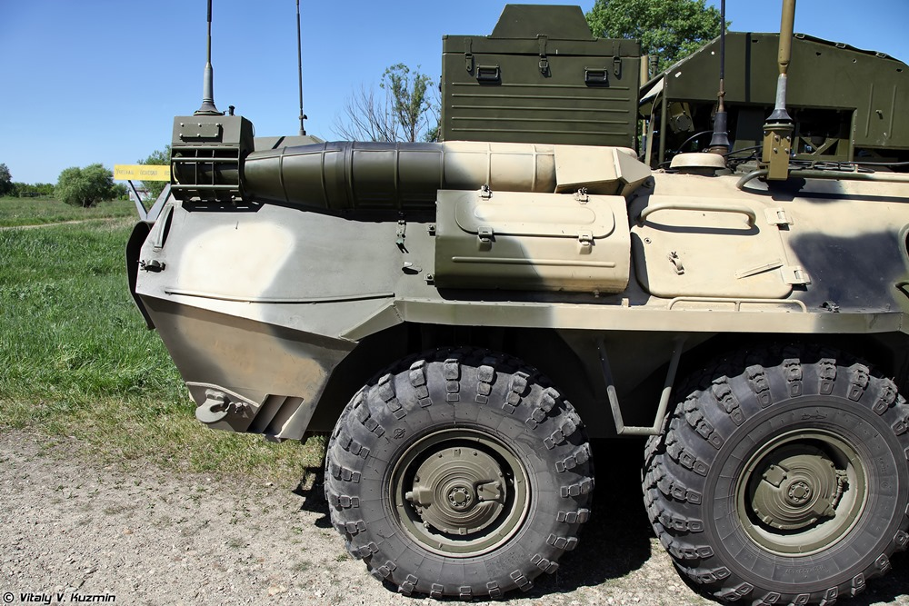 BPDM Typhoon-M: Russian counter-sabotage combat vehicle - 09