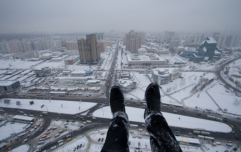 Breathtaking height: Photos by a Russian thrill seeker Marat Dupri - 01