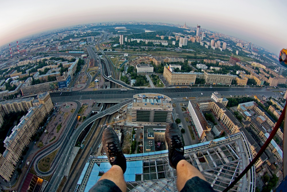 Breathtaking height: Photos by a Russian thrill seeker Marat Dupri - 17