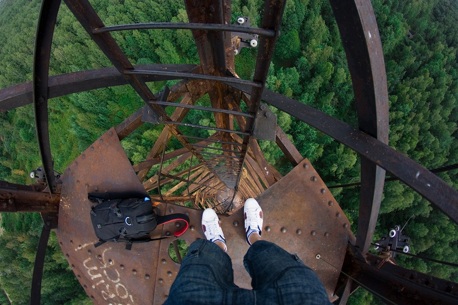 Breathtaking height: Photos by a Russian thrill seeker Marat Dupri - 19