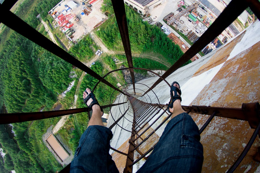 Breathtaking height: Photos by a Russian thrill seeker Marat Dupri - 23
