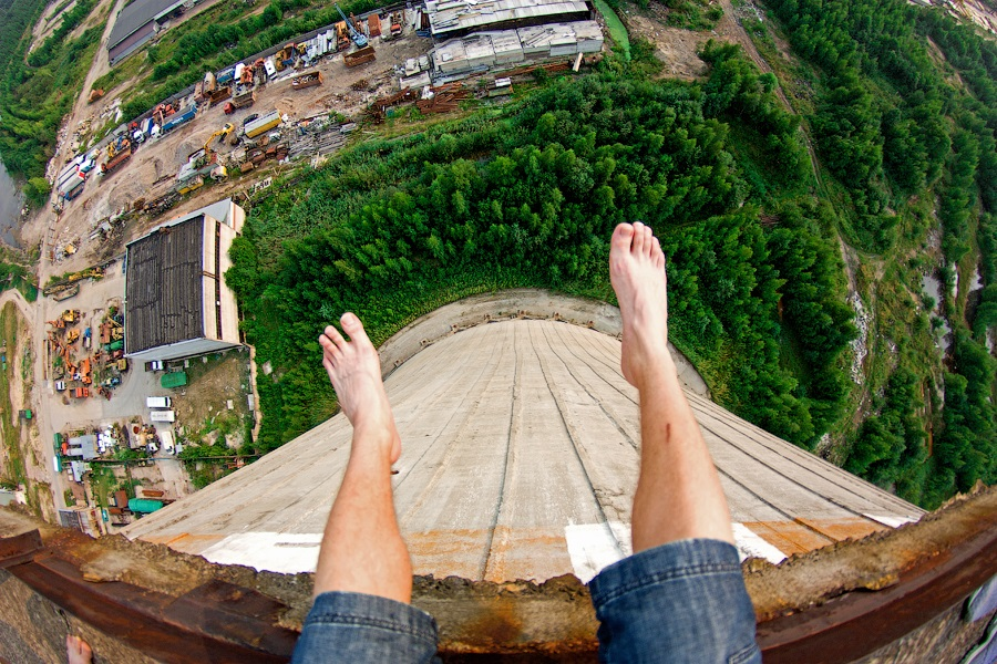 Breathtaking height: Photos by a Russian thrill seeker Marat Dupri - 24