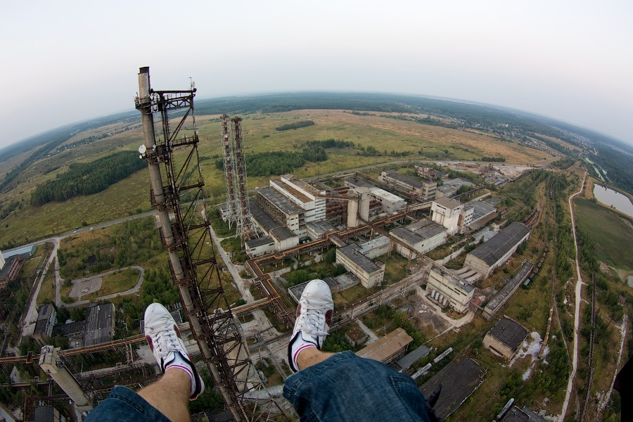 Breathtaking height: Photos by a Russian thrill seeker Marat Dupri - 26