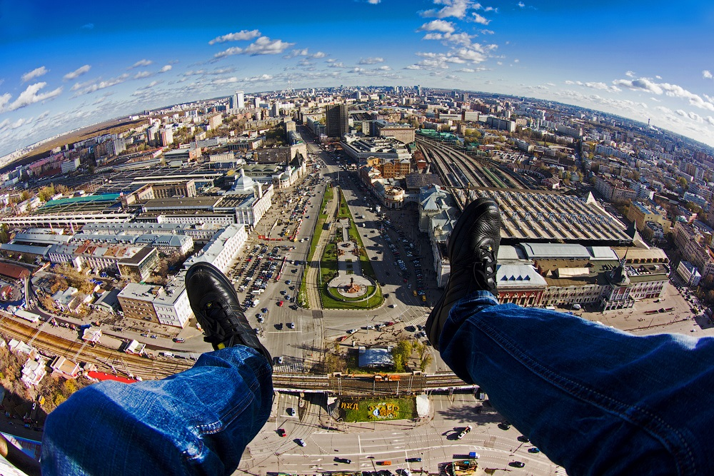 Breathtaking height: Photos by a Russian thrill seeker Marat Dupri - 32