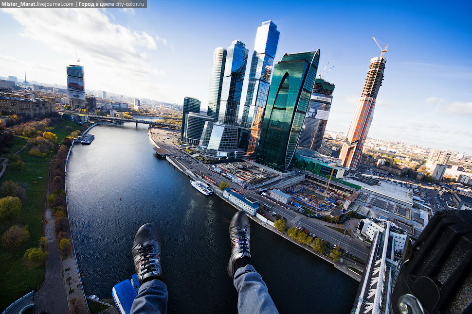 Breathtaking height: Photos by a Russian thrill seeker Marat Dupri - 38