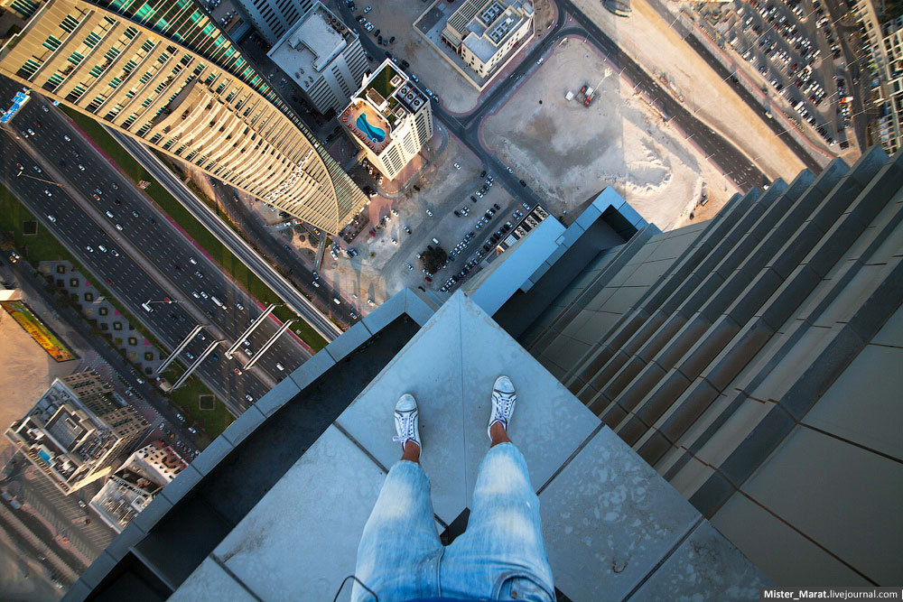 Breathtaking height: Photos by a Russian thrill seeker Marat Dupri - 39