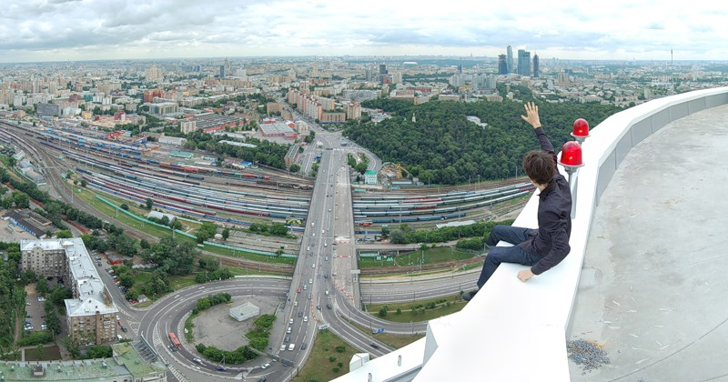 Breathtaking height: Photos by a Russian thrill seeker Marat Dupri - 41