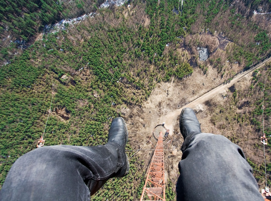 Breathtaking height: Photos by a Russian thrill seeker Marat Dupri - 09