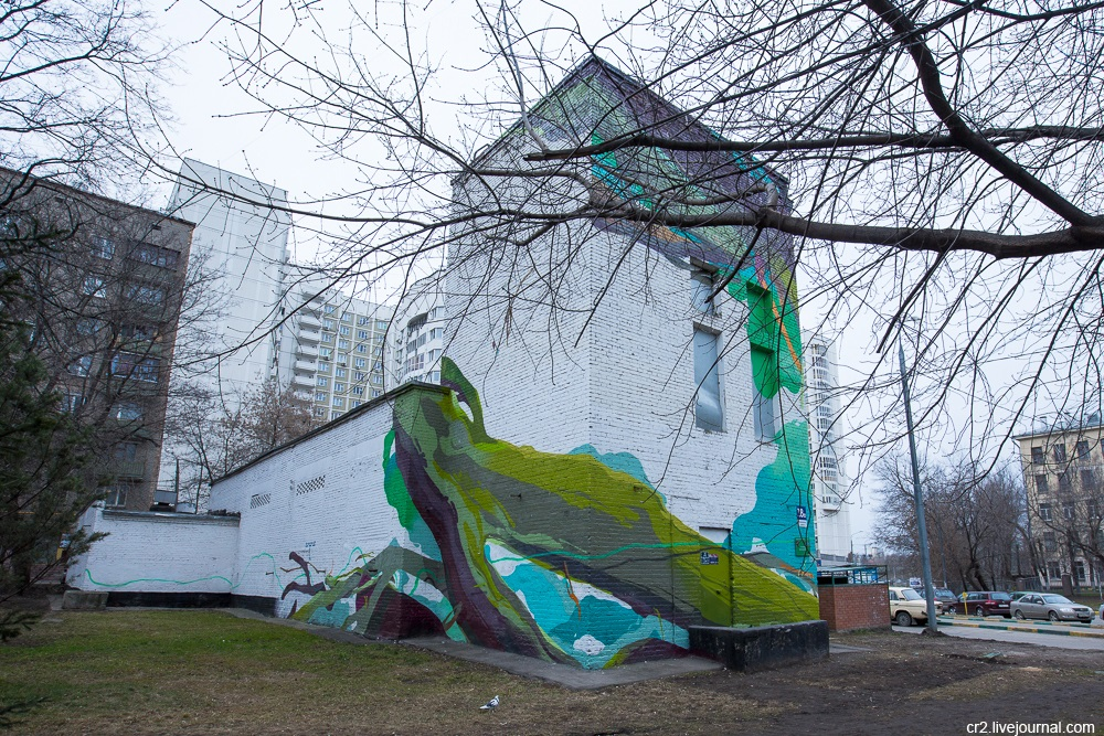 Creative street-art in the capital city: Huge Moscow graffiti - Part 2 - 03