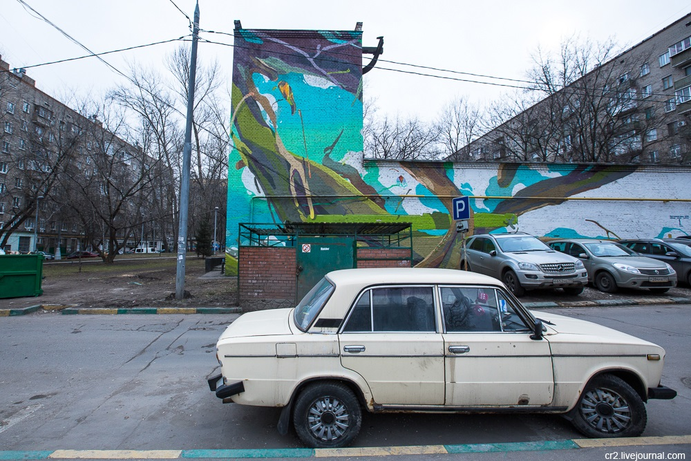 Creative street-art in the capital city: Huge Moscow graffiti - Part 2 - 05