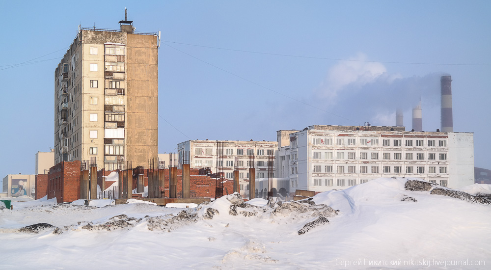 Dark Norilsk: The most polluted and gloomy industrial city of Russia - 27