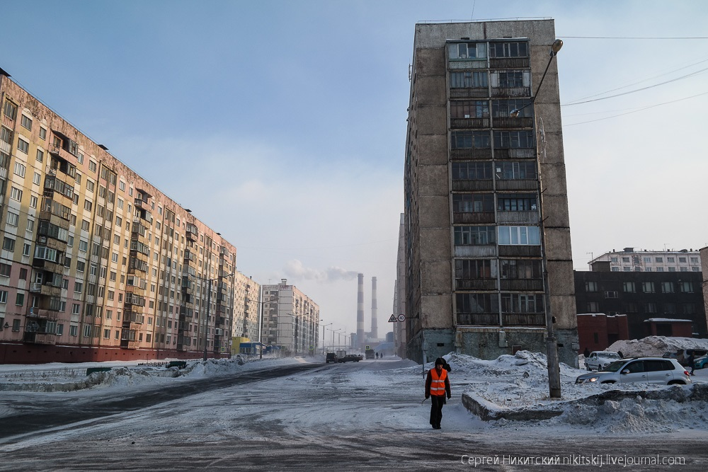 Dark Norilsk: The most polluted and gloomy industrial city of Russia - 28