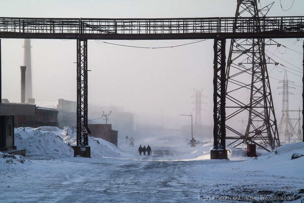 Dark Norilsk: The most polluted and gloomy industrial city of Russia - 43