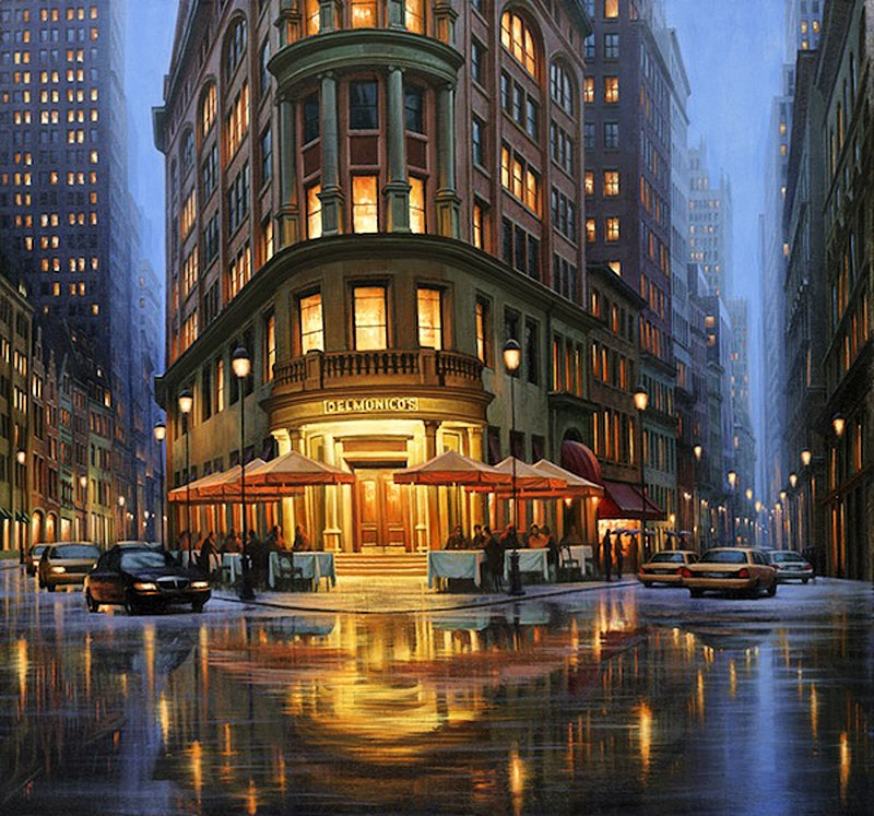 Pensive mood: Night cityscapes by a Russian artist Alexey Butyrsky - 12