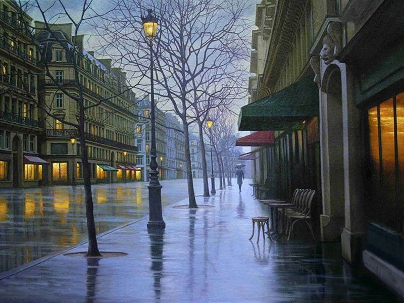 Pensive mood: Night cityscapes by a Russian artist Alexey Butyrsky - 14