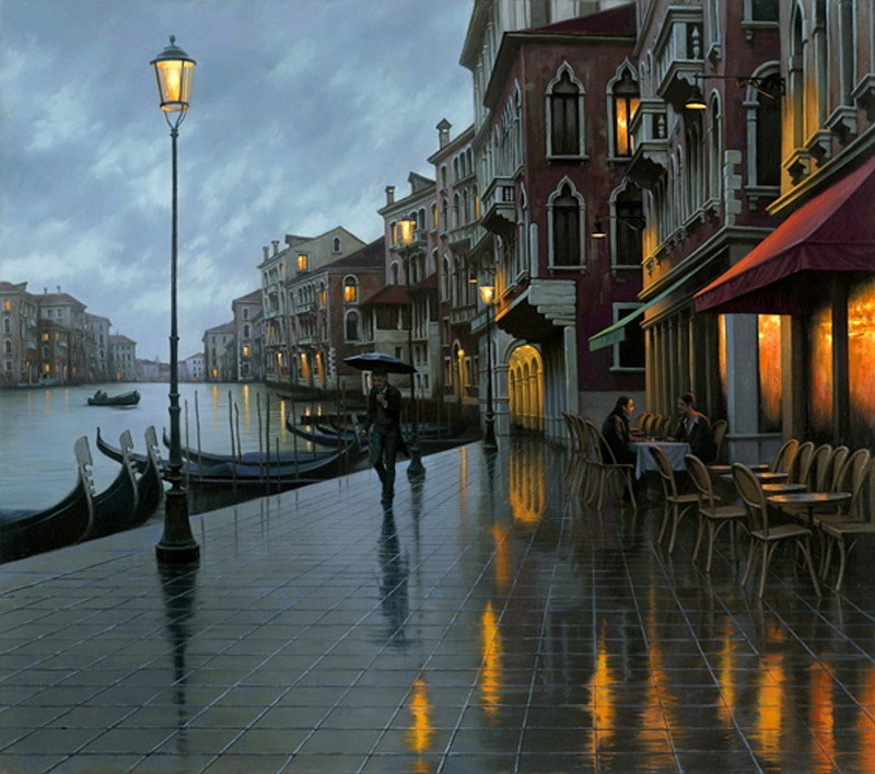 Pensive mood: Night cityscapes by a Russian artist Alexey Butyrsky - 17