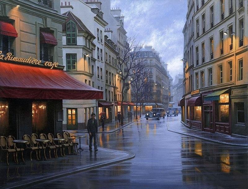 Pensive mood: Night cityscapes by a Russian artist Alexey Butyrsky - 02