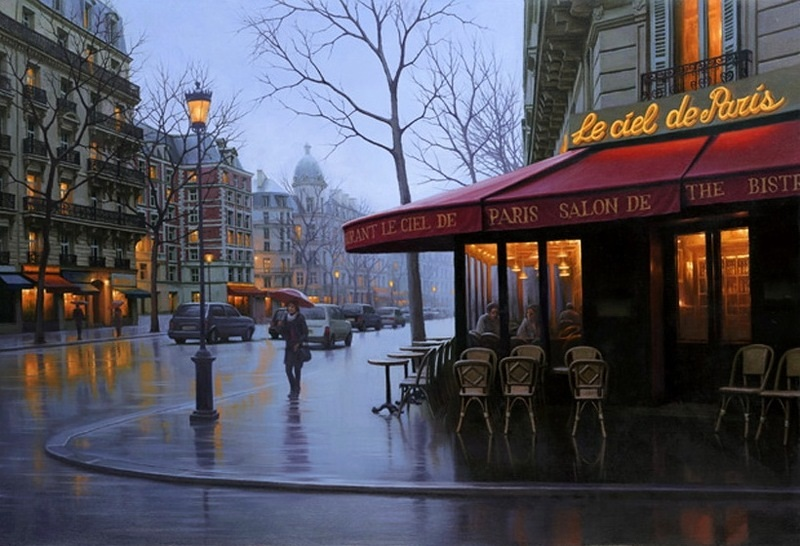 Pensive mood: Night cityscapes by a Russian artist Alexey Butyrsky - 26