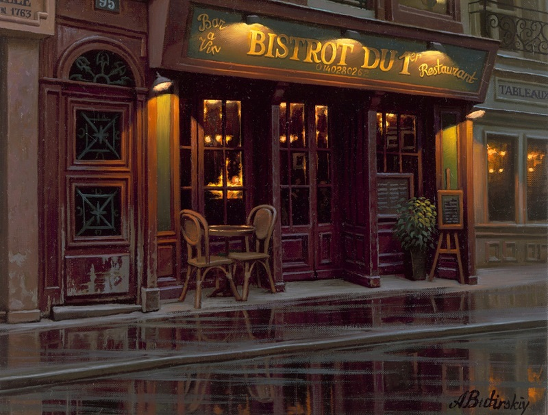 Pensive mood: Night cityscapes by a Russian artist Alexey Butyrsky - 31