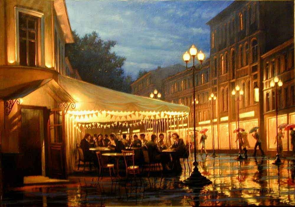 Pensive mood: Night cityscapes by a Russian artist Alexey Butyrsky - 36