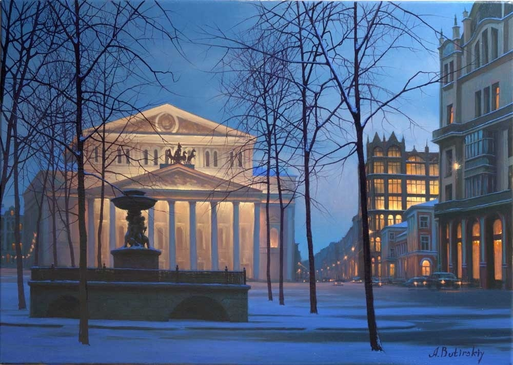 Pensive mood: Night cityscapes by a Russian artist Alexey Butyrsky - 49