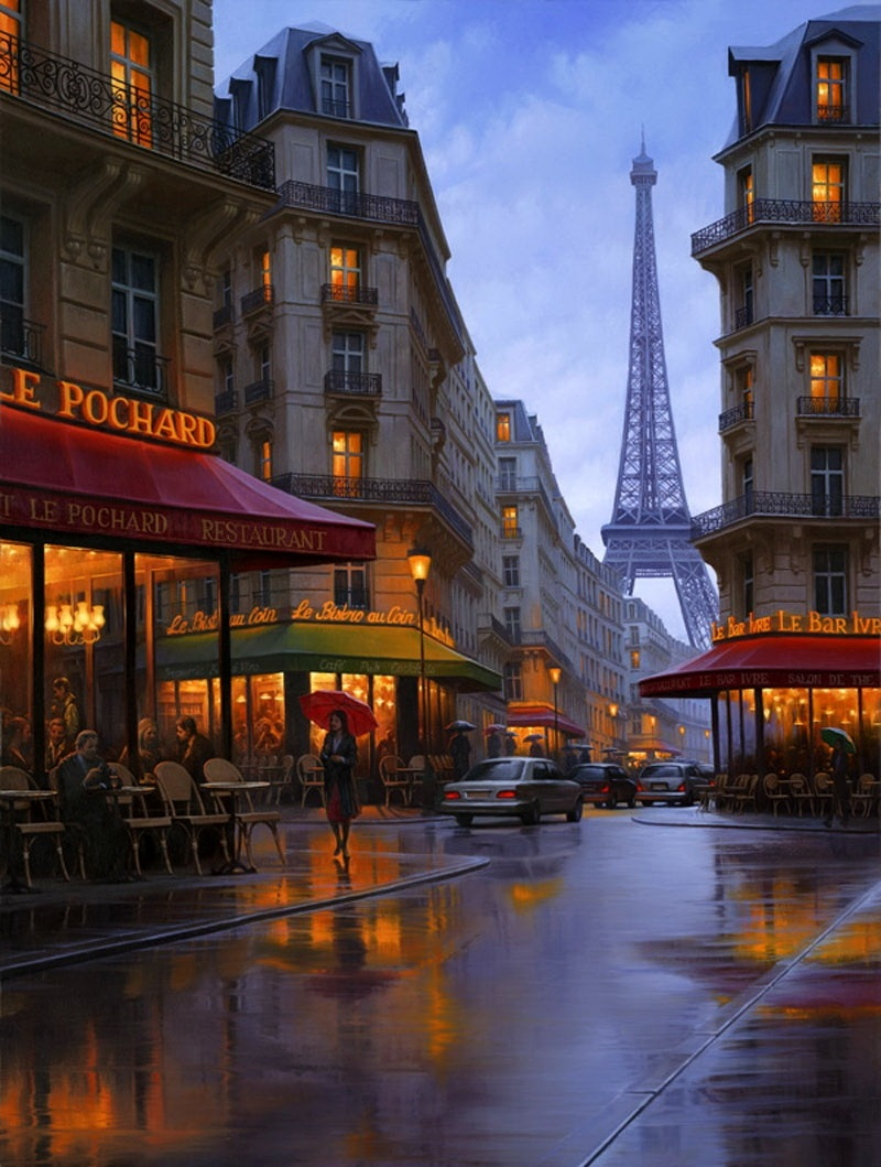 Pensive mood: Night cityscapes by a Russian artist Alexey Butyrsky - 06