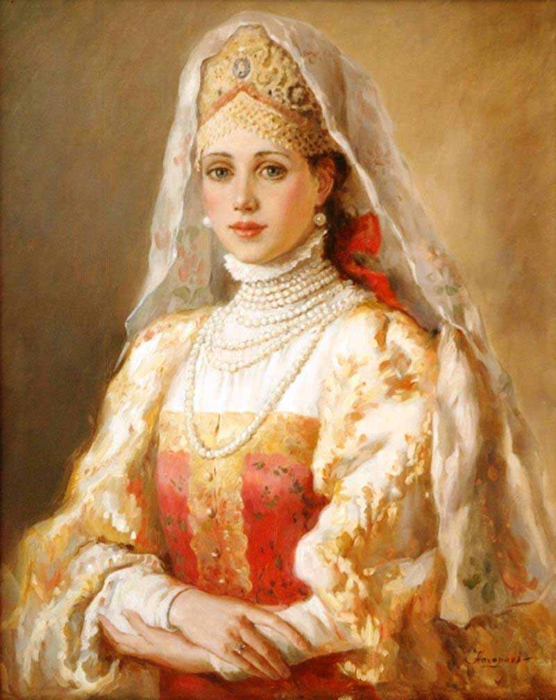 Russian princess: Pictures by a Russian artist Vladislav Nagornov - 03