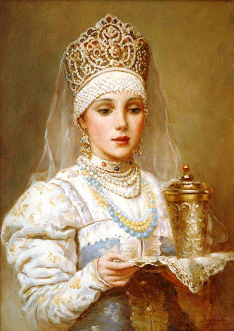 Russian princess: Pictures by a Russian artist Vladislav Nagornov - 05