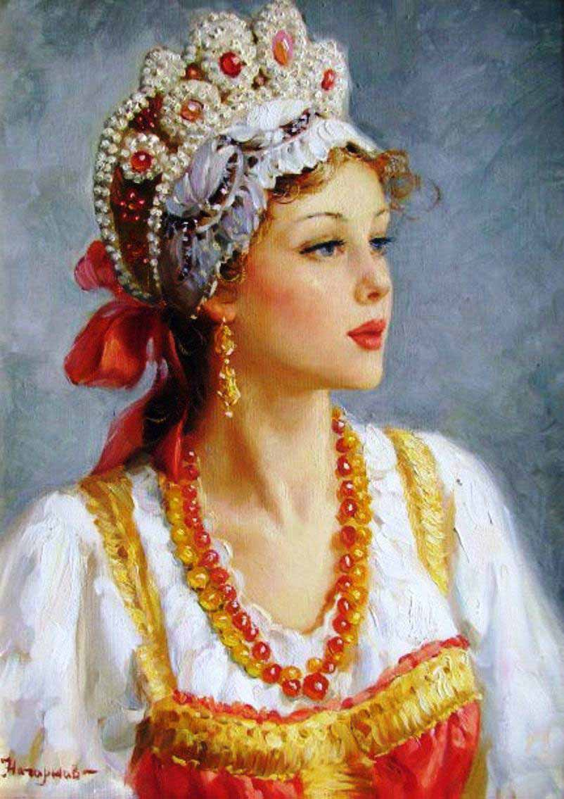 Russian princess: Pictures by a Russian artist Vladislav Nagornov - 06