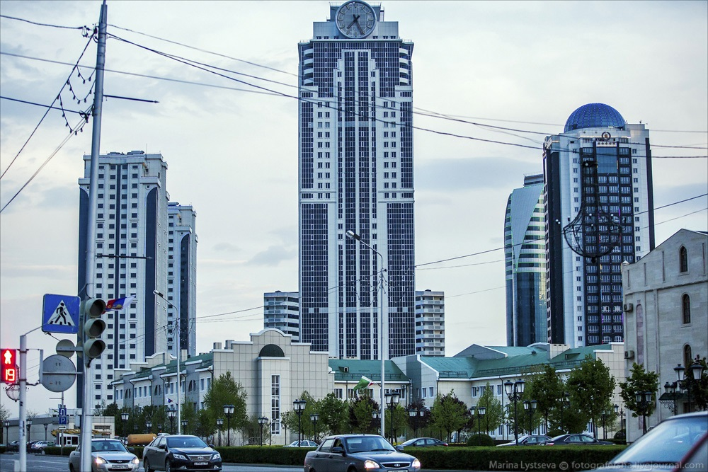 Modern Grozny: Walking around the capital city of Chechen Republic - 01