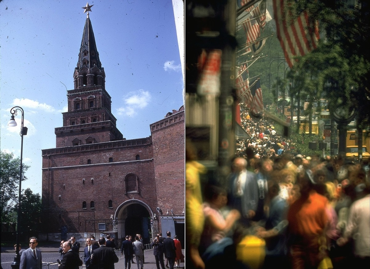 Moscow vs New York: Comparison of two big cities 45 years ago - 15