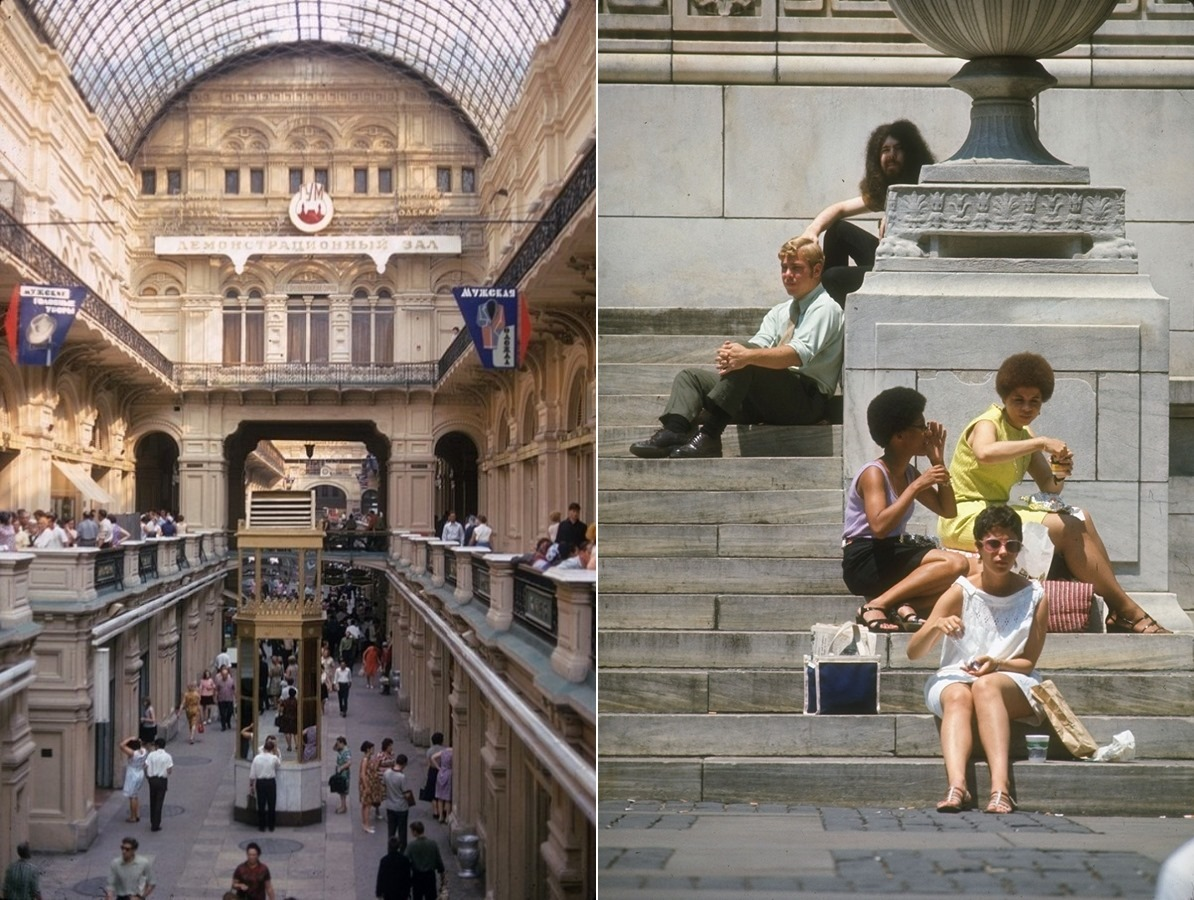 Moscow vs New York: Comparison of two big cities 45 years ago - 18