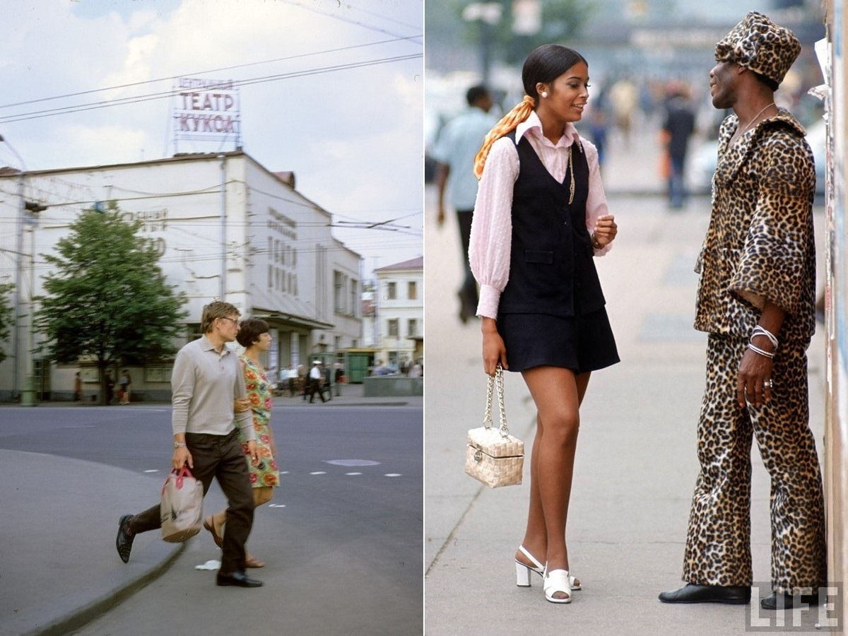 Moscow vs New York: Comparison of two big cities 45 years ago - 02