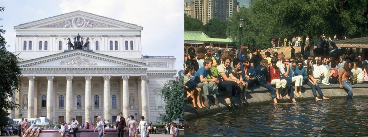 Moscow vs New York: Comparison of two big cities 45 years ago - 24