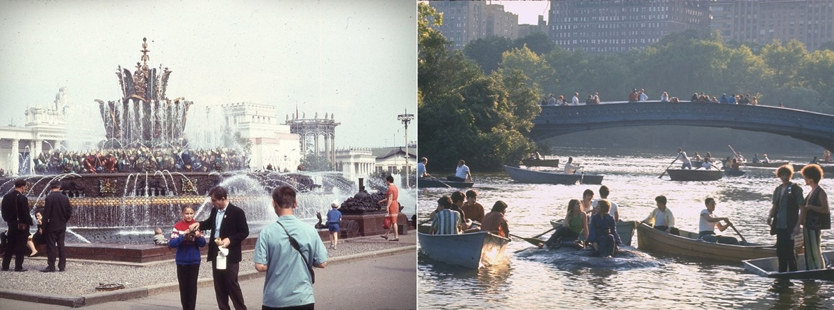 Moscow vs New York: Comparison of two big cities 45 years ago - 27