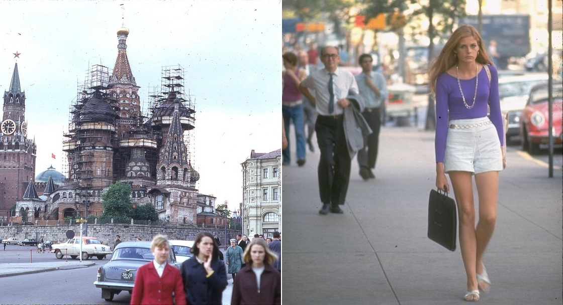 Moscow vs New York: Comparison of two big cities 45 years ago - 08