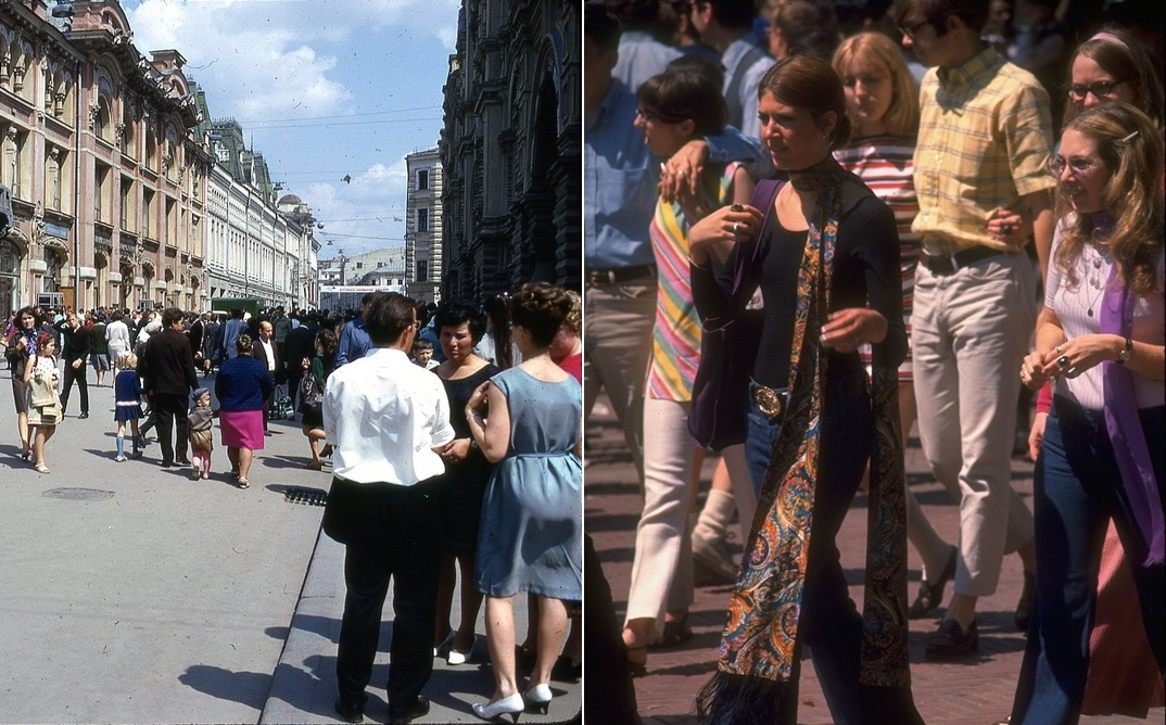 Moscow vs New York: Comparison of two big cities 45 years ago - 09