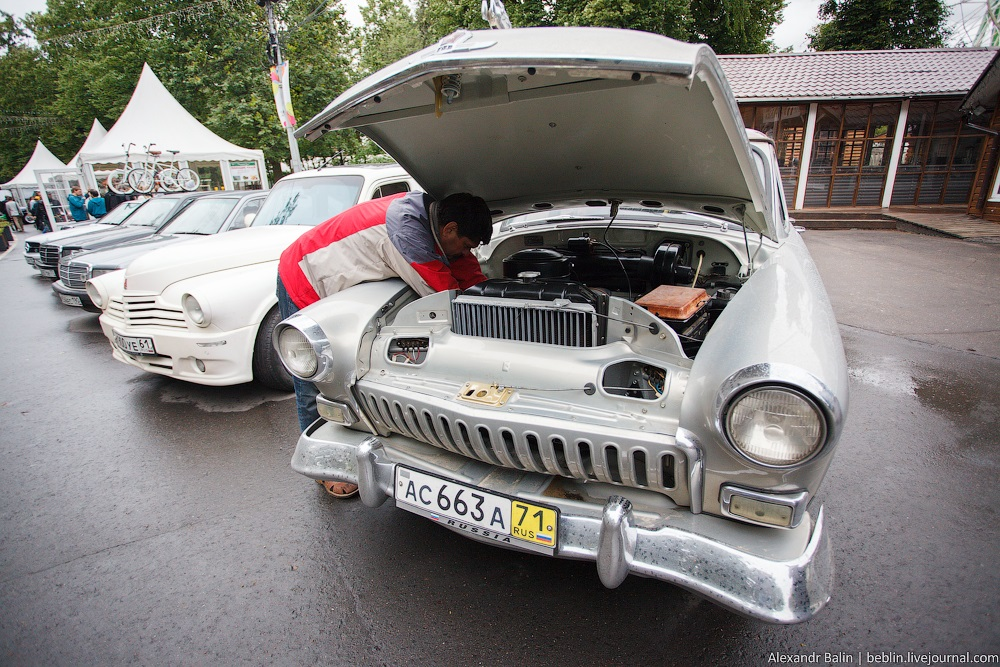 Retro Fest: 3rd festival of retro cars and antiques in Sokolniki Park - 11