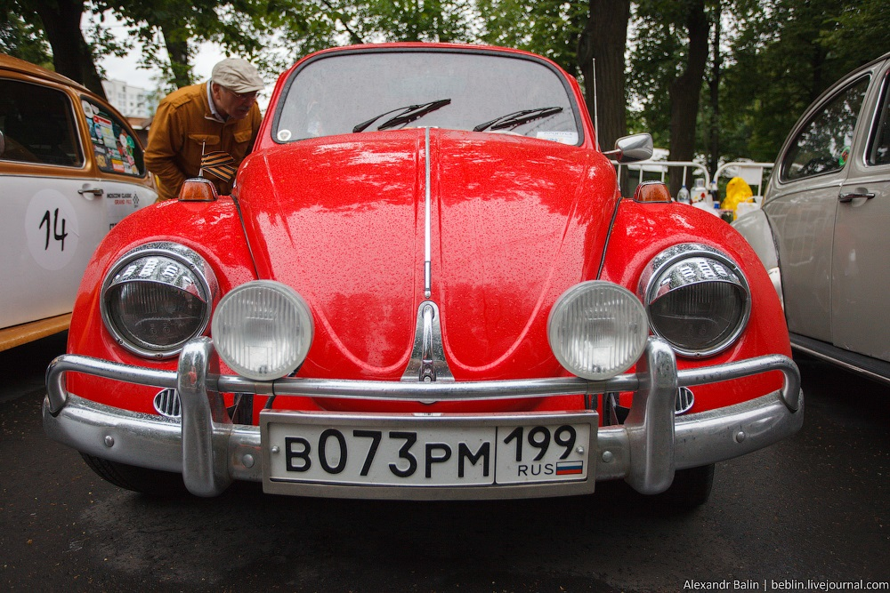 Retro Fest: 3rd festival of retro cars and antiques in Sokolniki Park - 17