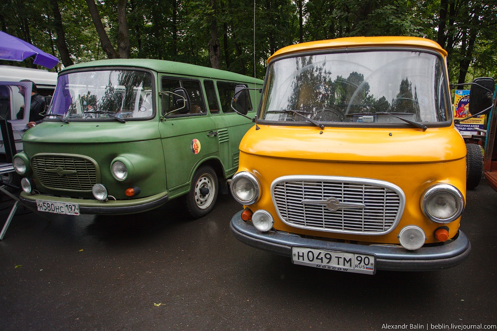 Retro Fest: 3rd festival of retro cars and antiques in Sokolniki Park - 19