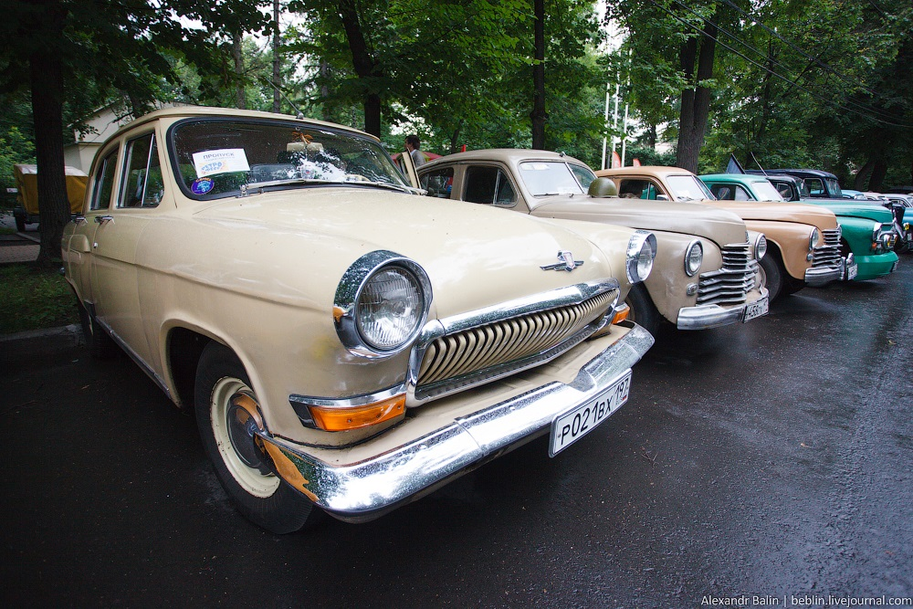 Retro Fest: 3rd festival of retro cars and antiques in Sokolniki Park - 30