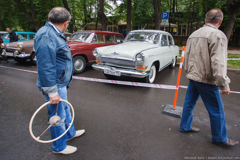 Retro Fest: 3rd festival of retro cars and antiques in Sokolniki Park - 32