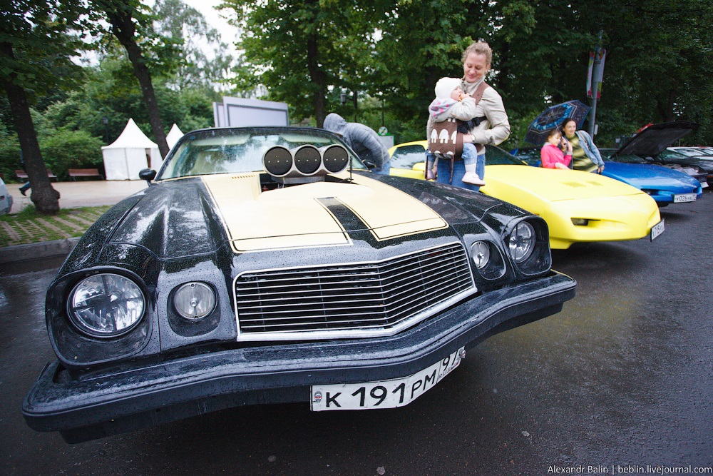 Retro Fest: 3rd festival of retro cars and antiques in Sokolniki Park - 33