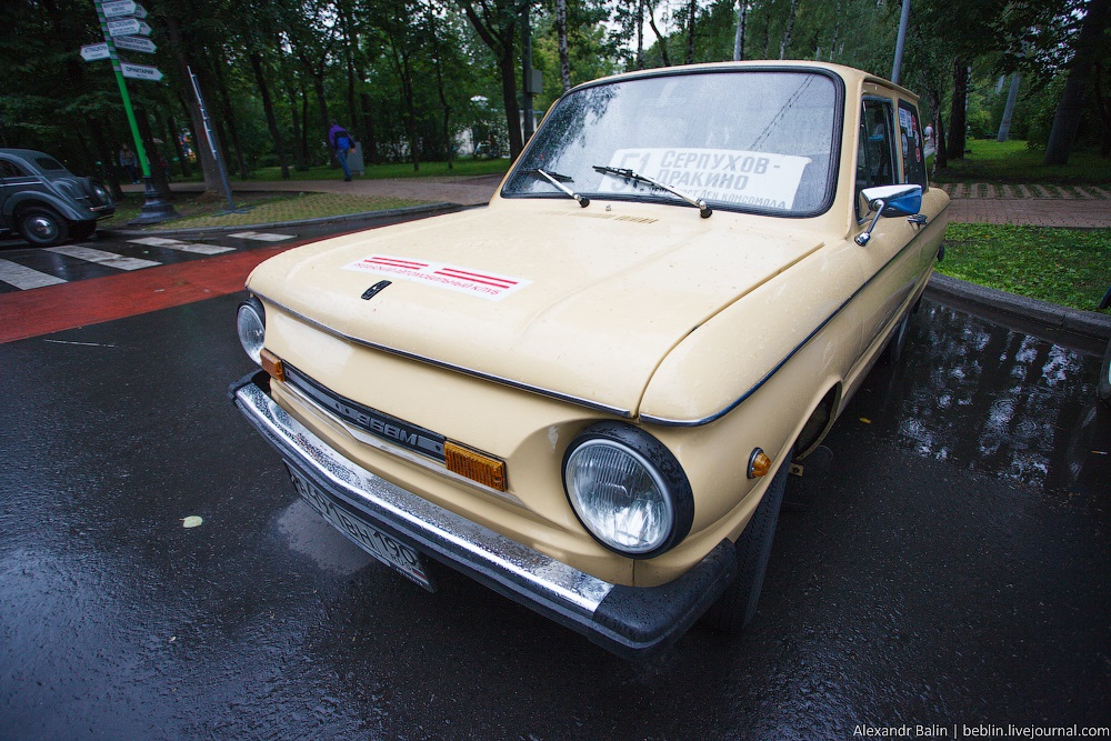Retro Fest: 3rd festival of retro cars and antiques in Sokolniki Park - 37