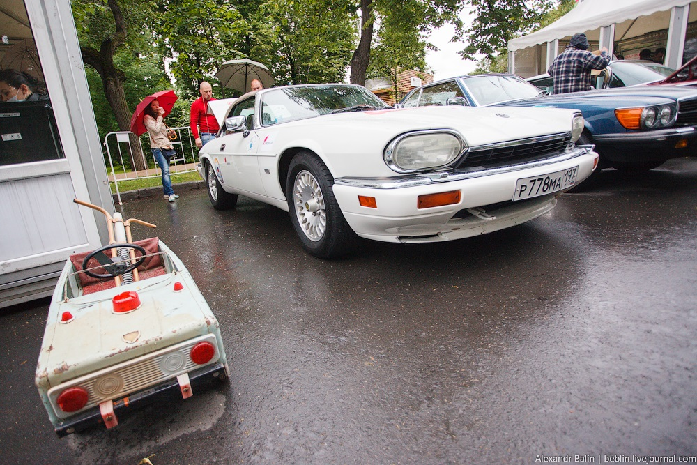 Retro Fest: 3rd festival of retro cars and antiques in Sokolniki Park - 04